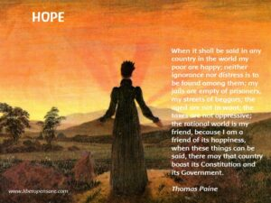 Hope Thomas Paine