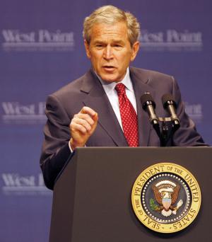 Bush-defends-record-in-West-Point-speech