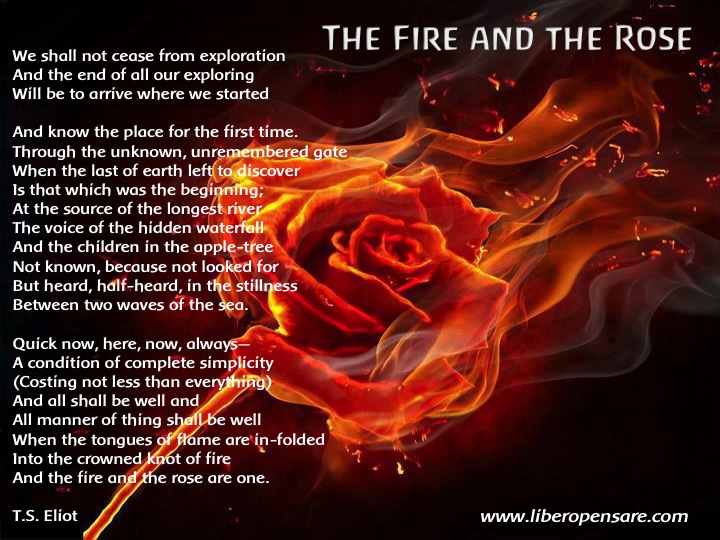 The Fire and the Rose T.S.Eliot