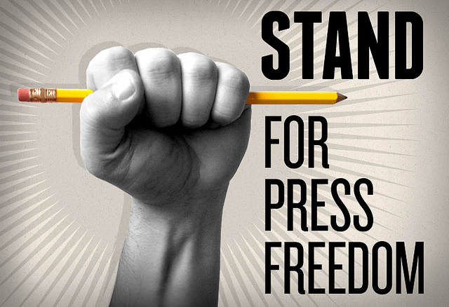 Stand up for press freedom by Free Press Pics