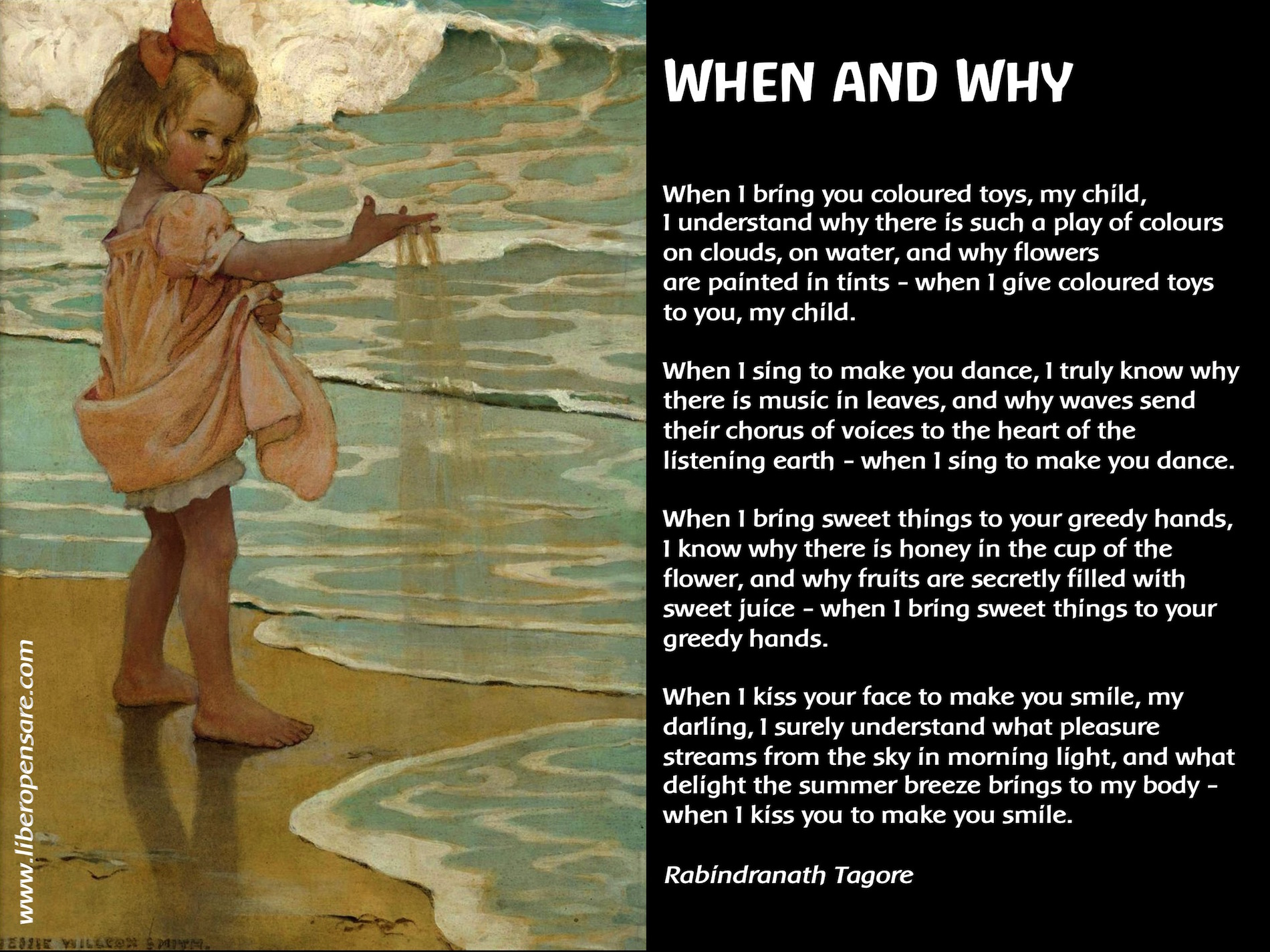 When and Why Rabindranath tagore