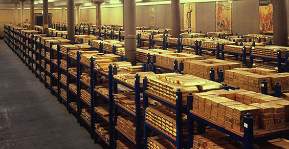 05 Bank of England Gold Vault