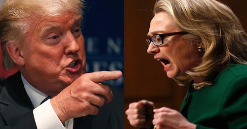 Donald Trump vs Hillary Clinton 5